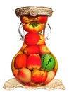 Free Fruit Pot Royalty Free Stock Photography - 5580677
