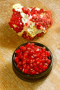 Free Pomegranate Fruit And Seeds Stock Photography - 5581652