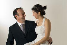 Free Couple Smiling - Horizontal Stock Photography - 5580122
