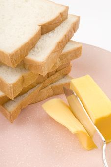 Free Toast And Butter Stock Photos - 5580233