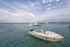 Free Maldives Seascape Stock Image - 5580321