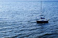 Free Sailboat On Water Stock Image - 5580581