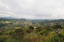 Lake Of Casoli In Abruzzo Stock Images