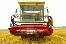 Free Combine Harvester Stock Image - 5581001