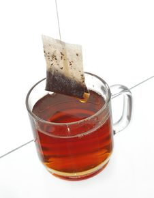 Free Transparent Cup Of Tea Royalty Free Stock Photo - 5581655