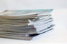 Free Magazines Royalty Free Stock Photos - 5581668