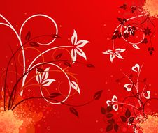 Free Floral  Artistic Vector Design Stock Photo - 5582070