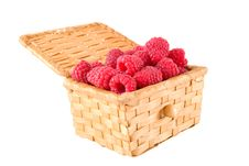 Free Bast-basket With A Raspberry Stock Photo - 5582390