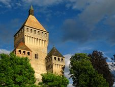 Free Vuffens Le Chateau, Switzerland Stock Image - 5582871