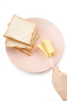 Free Toast And Butter Royalty Free Stock Image - 5582896