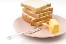 Free Toast And Butter Royalty Free Stock Images - 5582959