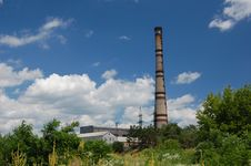Free Power Plant. Kiev,Ukraine Stock Photos - 5582973
