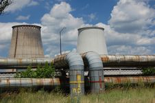 Free Power Plant. Kiev,Ukraine Royalty Free Stock Image - 5582996
