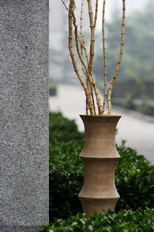 Free Wood Vase Stock Photography - 5583062