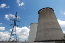 Free Power Plant. Kiev,Ukraine Stock Image - 5583261