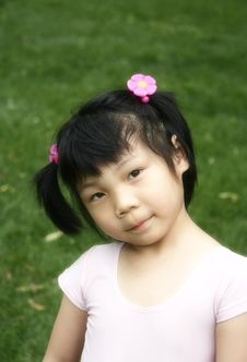 Free Chinese Girl Royalty Free Stock Images - 5584119