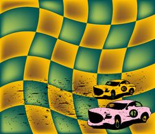 Free Abstract Racing Cars Stock Images - 5584284