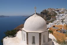 Free Greek Island Church (Santorini) Stock Photos - 5584323