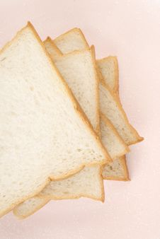Free Toast In The Plate Royalty Free Stock Photography - 5584367