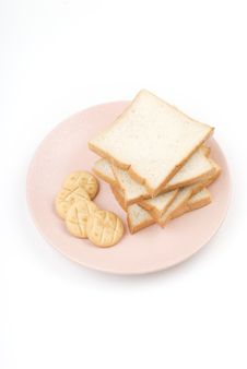 Free Toast And Cookies Royalty Free Stock Images - 5584409