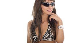 Free Sexy Woman In Bikini Royalty Free Stock Photo - 5584495