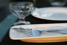 Free Dinner Table Detail Stock Photos - 5584533
