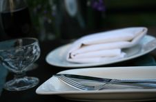 Free Fancy Dinner Detail Stock Image - 5584591