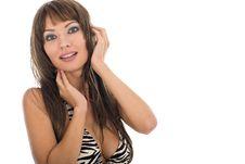 Free Sexy Woman In Bikini Royalty Free Stock Photos - 5584618