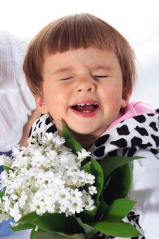 Free Portrait Of Sweet Smile Little Girl Stock Photo - 5585020