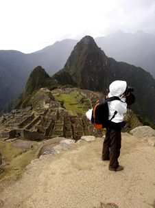 Free Photographer At Machu Picchu Stock Photos - 5585163