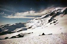 Free Bright Night On A Mountain Stock Photos - 5585173