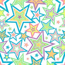 Free Distressed Stars Background Vector Royalty Free Stock Photo - 5587095