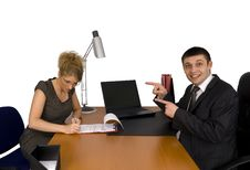 Free Businesswoman Signing The Contract. Stock Photo - 5587380