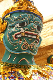 Ramakien Mask Stock Images