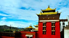 Free The Temple Of Tibet Royalty Free Stock Image - 5588086