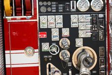 Free Fire Truck Instruments Stock Image - 5588581