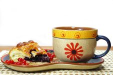 Fresh Sweet Pie Stock Images