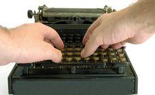 Free Typewriter Stock Photos - 5588993