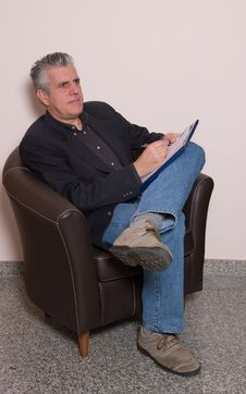 Free Writing A Report Stock Photo - 5589790