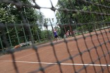 Free Tennis Net Stock Photo - 5589910
