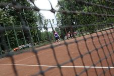 Free Tennis Net Royalty Free Stock Images - 5589919
