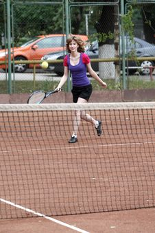 Free Tennis Player Stock Photo - 5589940