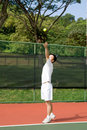Free Aisan Tennis Player Royalty Free Stock Image - 5592096