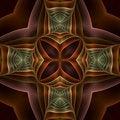 Free Silk Cross Mandala Royalty Free Stock Images - 5592269