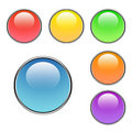Free Blank Buttons Set Royalty Free Stock Photography - 5592507