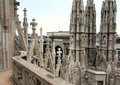 Free The Image From The Rooftop Of Duomo Stock Photo - 5597550