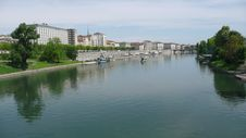 Free Turin Po River 2 Stock Photography - 5590312