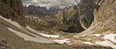 Dolomites Mountains Royalty Free Stock Photo