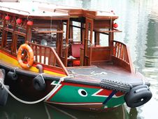 Free Wooden Boat Stock Photo - 5591010
