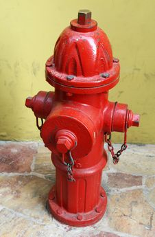 Free Red Fire Hydrant Royalty Free Stock Image - 5591106